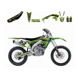 Kit complet Kawasaki KX250F 2017-18 Dream Graphic 3