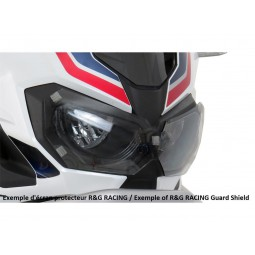 Ecran de protection phare BMW F700GS translucide