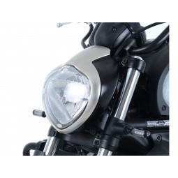 Ecran de protection phare BMW R1200GS translucide