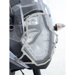 Ecran de protection phare BMW R1200RT 2015-17 translucide