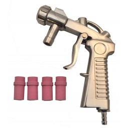 Pistolet microbilleuse + 4 buses