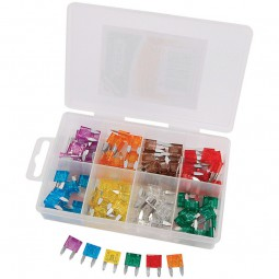 Assortiment de 100 mini-fusibles