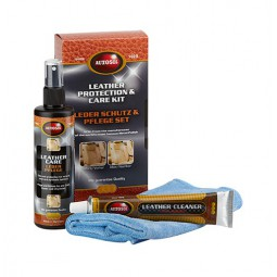 Kit entretien et protection cuir (Leather Cleaner and care)
